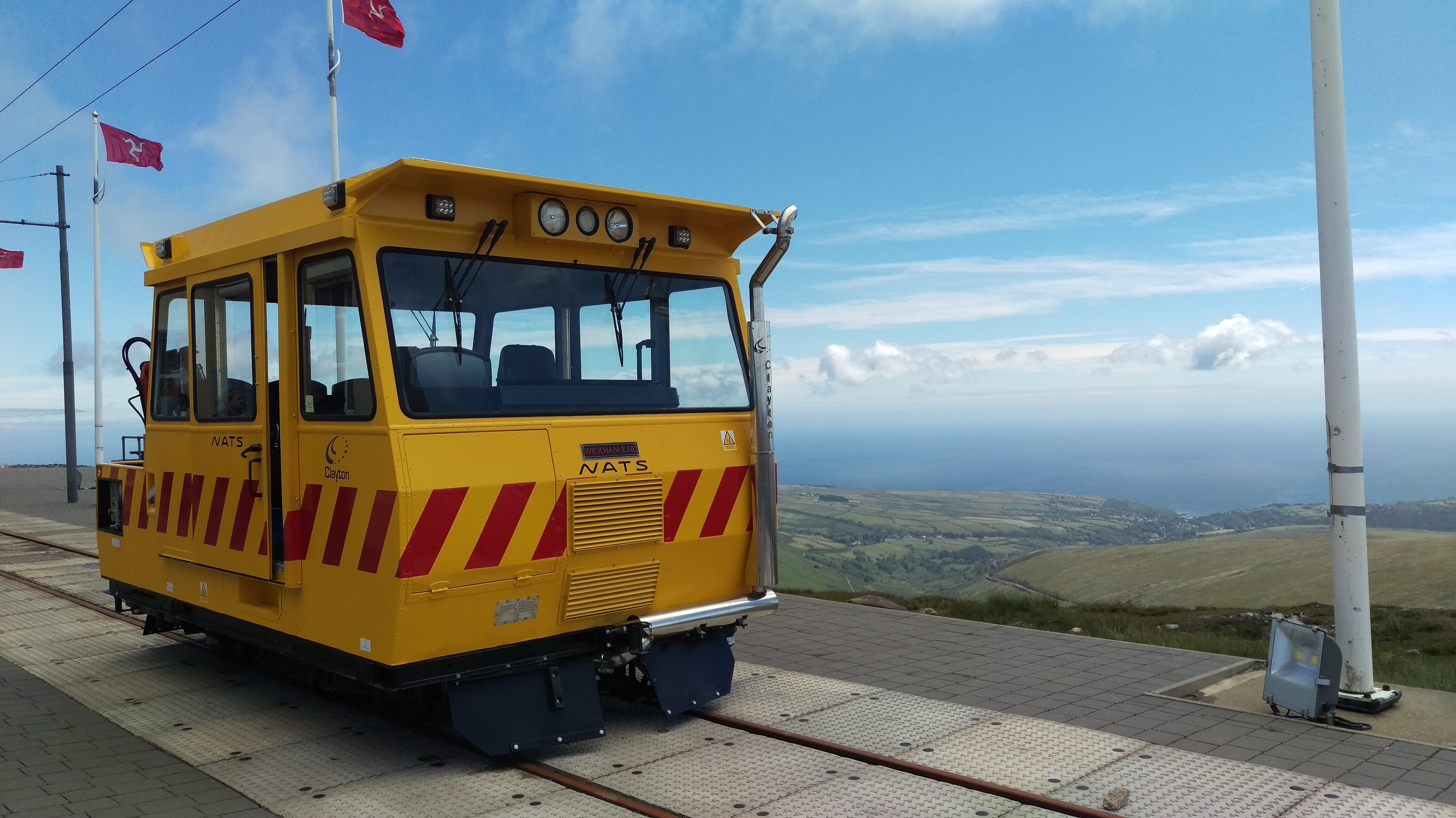 Clayton Diesel overhauled Isle of Man Snaefell NATS Rail Car