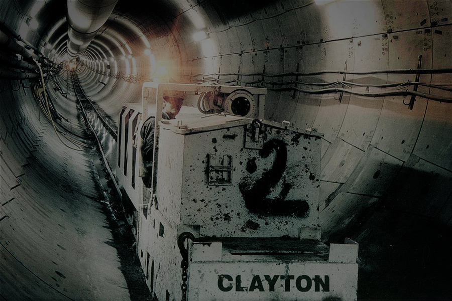 Clayton battery tunnel locomotive