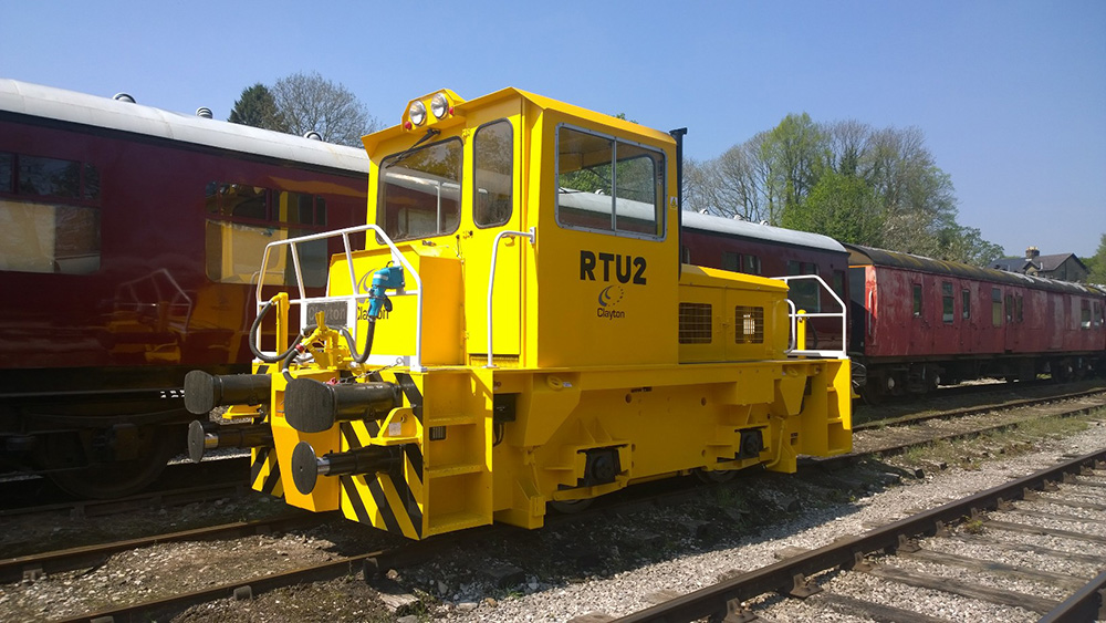 Clayton Diesel locomotive