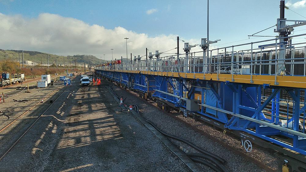 Clayton Balfour Beatty tunnel train