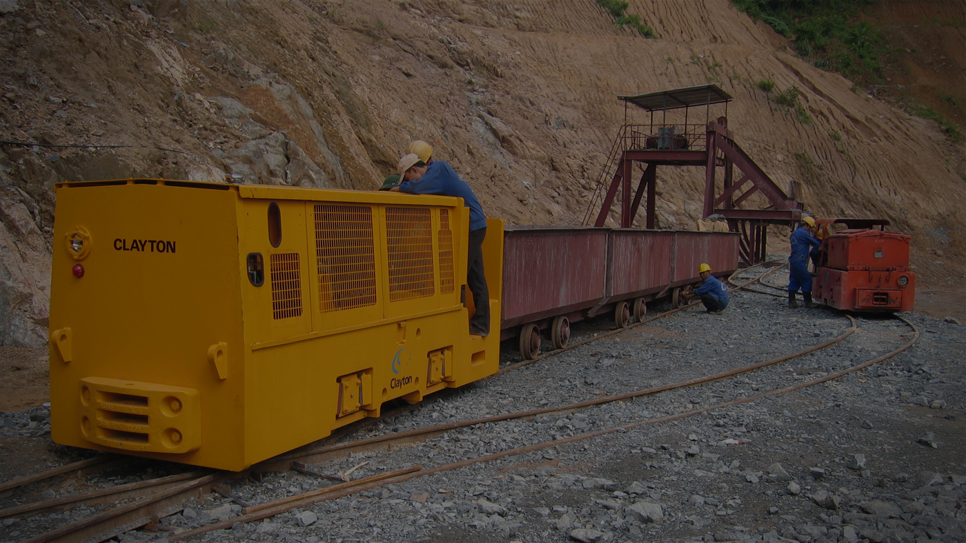 Clayton Diesel locomotive